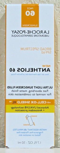 La Roche-Posay Anthelios 60 Ultra Light Sunscreen Fluid 1.7o