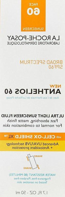 La Roche-Posay Anthelios 60 Ultra Light Sunscreen, SPF60 1.7