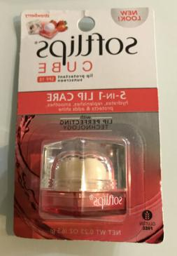 Last one!!! SOFTLIPS Cube Strawberry Flavor 5-in-1 Lip Care