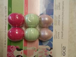 Eos Lasting Hydration Lip Balm - 6 Pack (2 Hibiscus Peach, 2