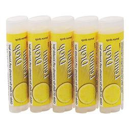 SALUS Lemon ★ Organic Lip Conditioner 5 Pack ★ All Natur