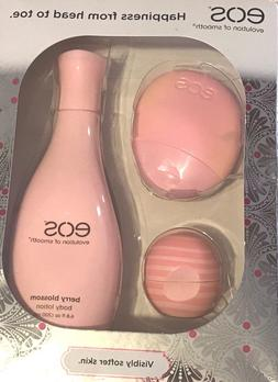 EOS Limited Edition Gift Set Berry Blossom Hand,Body Lotion