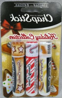 ChapStick Limited Edition Holiday Collection 3 Pack Pumpkin