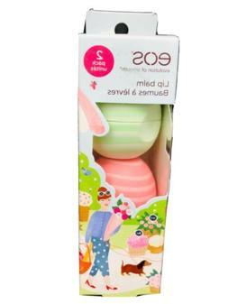 EOS Limited Edition Lip Balm 2 Pack Cucumber Melon Coconut M