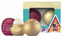 EOS  Lip Balm Organic Chai Fireside Visibly Soft Cranberry P