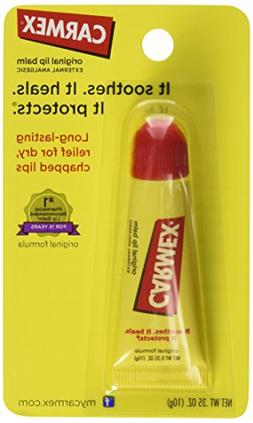 Carmex Lip Balm, for Dry Chapped Lips, Moisturizing, Origina