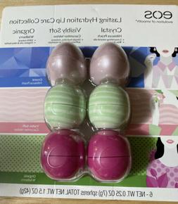 EOS Lip Balm 6 Pack Lasting Hydration Moisture Lip Care Sphe