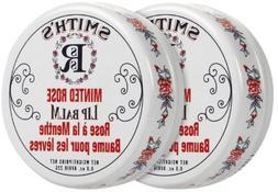 Rosebud Perfume Co. Lip Balm-Minted Rose, 2 pack