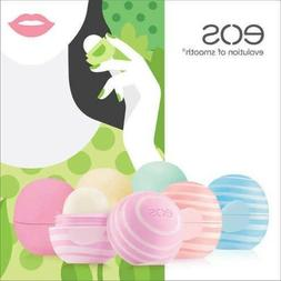 eos Lip Balm Blackberry Nectar, Coconut Milk, Vanilla 6 Piec