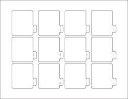 Lip Balm Blank Label Paper