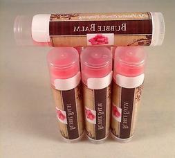 Lip Balm Bubble Balm Flavor Pink Gum Chapstick Tube All Natu