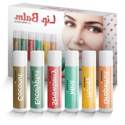 Lip Balm by Pure Aroma 100% Natural Moisturizing Lip Balm wi