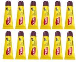 Carmex Lip Balm Cherry Tube With SPF 15 Sunscreen PACK OF 12