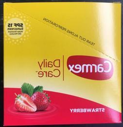 Carmex Lip Balm Daily Care SPF15 36CT Strawberry Flavor .15O