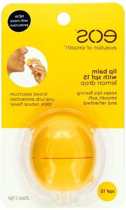 Eos Lip Balm - Lemon Drop Sphere Spf 15
