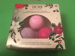 EOS Decorative Stickers Holiday Lip Balm Gift Set Limited Va