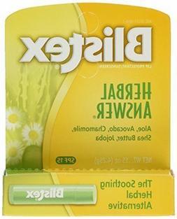 Blistex Lip Balm Herbal Answer SPF 15 0.15 oz