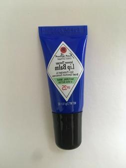 Jack Black Lip Balm in Natural Mint 3g 0.1oz Mini Travel Siz