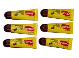 Carmex Lip Balm Pack of 6 Tubes Classic Cherry, Daily Care S
