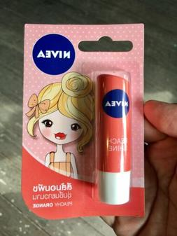 NIVEA Lip Balm PEACH SHINE Long Last Moisturising Lip Stick