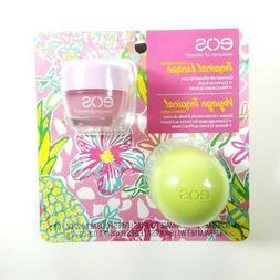 EOS Lip Balm Pina Colada + Guava Lip Scrub Tropical Escape 2
