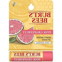 Burt's Bees Pink Grapefruit, Moisturizing Lip Balm 0.15 oz