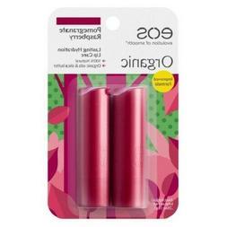 eos Lip Balm Sticks - Pomegranate Raspberry - 2pk Natural an