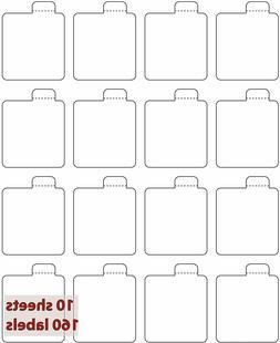 Milliard Lip Balm Tube Blank Labels – 16 Labels x 10 Sheet