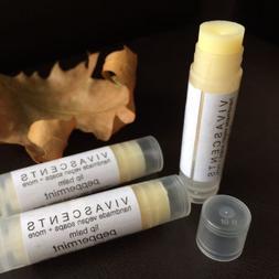 Lip Balm handmade vegan All Natural moisturizing fresh peppe