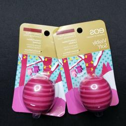 EOS Lip Balm Visibly Soft LIMITED EDITION Cranberry Pear Lot