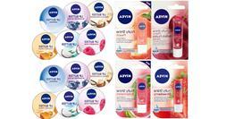 Nivea Lip Care Balm 4.8g, Lip Butter 16.7g & Lip Balm Crayon