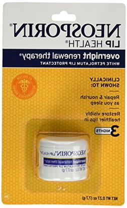Neosporin Overnight Lip Health Renewal Therapy 0.27 Ounce Ja