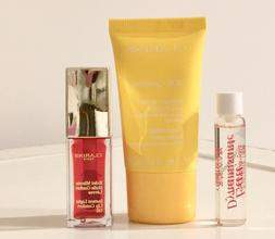 Clarins Lip Oil Full Size SOS Comfort Mask & Eau Dynamisante