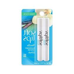 Softlips Lip Protectant/Sunscreen SPF 20, Vanilla