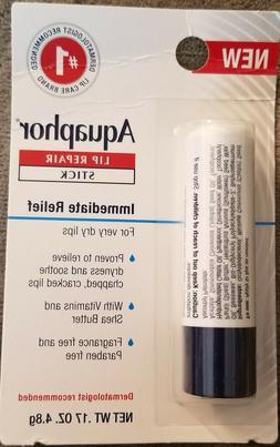 Aquaphor lip repair stick for immediate relief