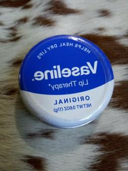VASELINE Lip Therapy Classic Balm TIN New! Sealed. FREE SHIP
