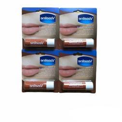 VASELINE LIP THERAPY Cocoa Butter 4 Pack Lip Care Balm Vitam