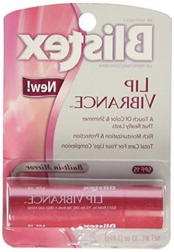 Blistex Lip Vibrance, Lip Protectant, SPF 15 0.13 oz