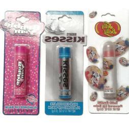 Lot lip balm Chocolate, tutti-fruitti, Bubble Yum Jelly Bell