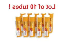 Lot of 10...  Walgreens BeesWax Lip Balms w/Vitamin E & Pepp