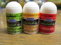 Lot of 12 OraLabs Essential Lip Naturals Mini-Lip Balms Thre