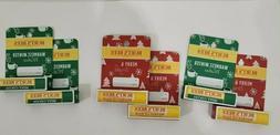 LOT OF 2 Burts Bees  LIP BALM Limited Edition Mint Cocoa ,VI