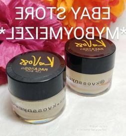 Lot of 2 Macaroon Lip Balm by K Voss .25 oz Full Size  KVOSS