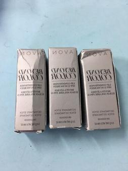 Lot Of 3- Avon Beyond Color Lip Conditioner SPF 15 Sunscreen