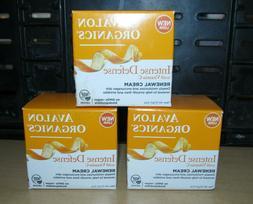 Avalon Organics Lot of 3 Intense Defense with Vitamin C Rene