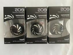 Lot of 3 EOS Pearl Shimmer Lip Balm Sphere 0.25 oz Light Shi