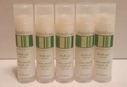Lot of 5 Avon Basics Care Deeply Lip Balm with Aloe New NOS