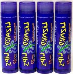 Lot of 5 Lizard Lips SPF 22 Lip Balms with Antioxidants 0.15