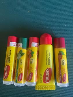 Lot Of 5 Tubes Carmex Lip Balm - CHOOSE YOUR FLAVORS