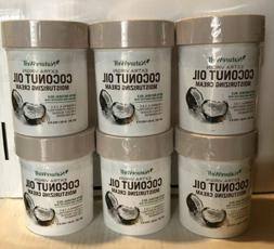 Lot of 6 - Naturewell Extra Virgin Coconut Oil Moisturizing
